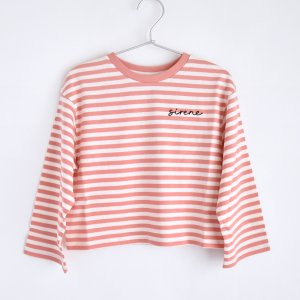 【the new society】【2021 SS】  SAILOR TEE - CORAL