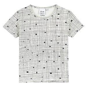 【BEAU LOVES】Natural Grid Baby T-Shirt