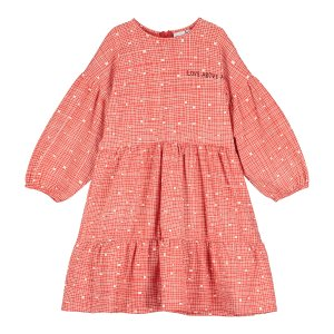<img class='new_mark_img1' src='https://img.shop-pro.jp/img/new/icons24.gif' style='border:none;display:inline;margin:0px;padding:0px;width:auto;' />【BEAU LOVES】Red Grid Stella Dress