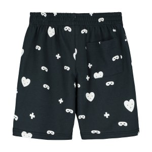 <img class='new_mark_img1' src='https://img.shop-pro.jp/img/new/icons47.gif' style='border:none;display:inline;margin:0px;padding:0px;width:auto;' />【BEAU LOVES】Black Hearts + Masks Shorts