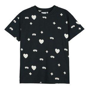 【BEAU LOVES】Black Hearts + Masks T-Shirt