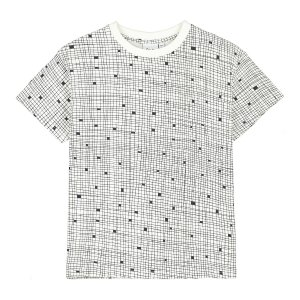 <img class='new_mark_img1' src='https://img.shop-pro.jp/img/new/icons24.gif' style='border:none;display:inline;margin:0px;padding:0px;width:auto;' />【BEAU LOVES】Natural Grid T-Shirt