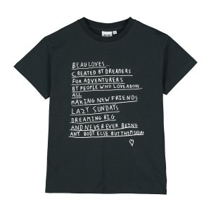 <img class='new_mark_img1' src='https://img.shop-pro.jp/img/new/icons24.gif' style='border:none;display:inline;margin:0px;padding:0px;width:auto;' />【BEAU LOVES】Black Dreamers T-Shirt