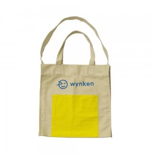 【wynken】Wynken Pocket Tote Bag - Chino / Amber