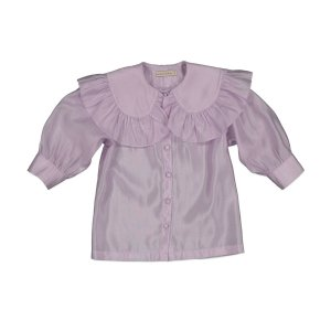 carbon soldier カーボンソルジャー BEETROOT BLOUSE - Violet