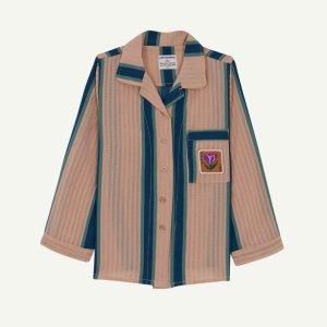 【yellowpelota】【21SS】Pijama Stripes Shirt - Green