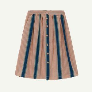【yellowpelota】【21SS】Stripes Button skirt