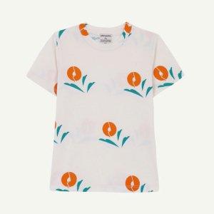 【yellowpelota】【21SS】Plant T-shirt - Natural (BABY)