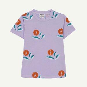 【yellowpelota】【21SS】Plant T-shirt - Mauve (BABY)