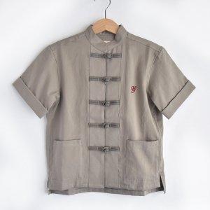 【GRIS】Kung fu Shirt - Greige
