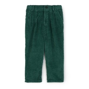 WOLF&RITA [21AW] ANDRE TROUSERS - CORDUROY GREEN