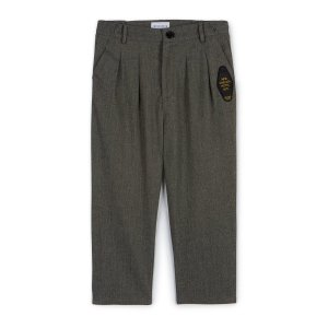 WOLF&RITA [21AW] ANDRE TROUSERS - ANDRE TROUSERS - SLATE