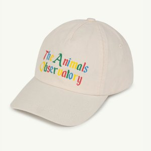 TAO / THE ANIMALS OBSERVATORY / HAMSTER KIDS CAP / WHITE