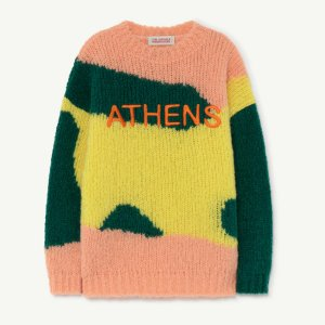 TAO / THE ANIMALS OBSERVATORY / CITY BULL KIDS SWEATER / ATHENS