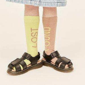 【wynken】Lost Found Sock / DULL PINK / ACID