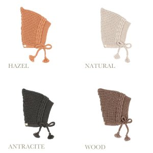 【buho】BABY SOFT KNIT HAT(4color)