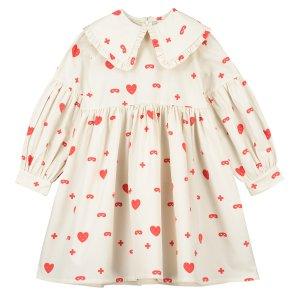 【BEAU LOVES】Natural Hearts + Masks Margo Frill Collar Dress