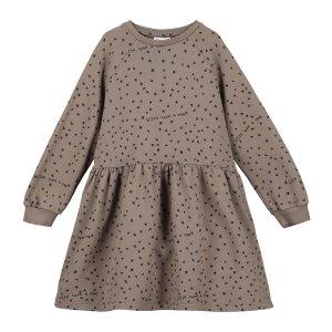 【BEAU LOVES】Washed Brown Wish Upon A Star Raglan Sleeve Dress