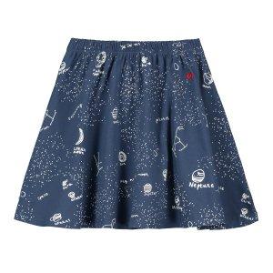 【BEAU LOVES】Navy Galaxy Jersey Circle Skirt