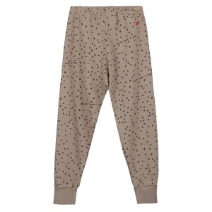 【BEAU LOVES】Washed Brown Wish Upon A Star Fleece Pants