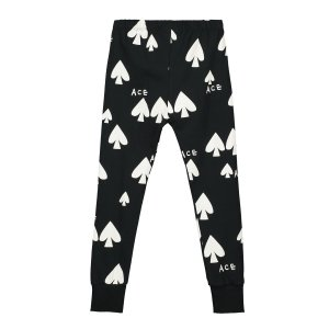 【BEAU LOVES】Black Ace Slim Pants