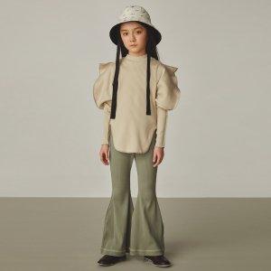 【GRIS】Elephant Sleeve Shirt / Egg