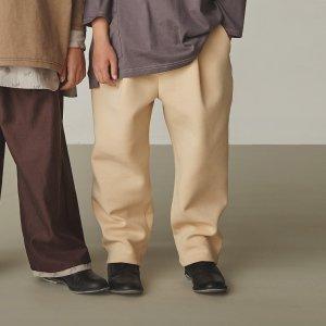 【GRIS】Tapared Pants / Ecru