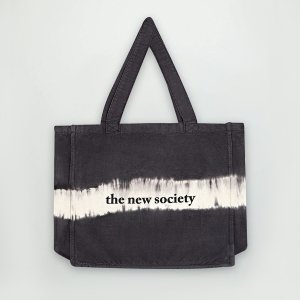 【the new society】TNS BAG / TIE DYED ASH