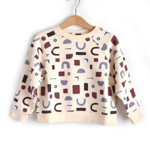 【the new society】CLEMENT SWEATER / ARTY PRINT 02