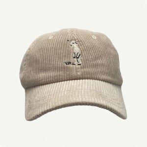 【yellowpelota】 Goat cap / Natural