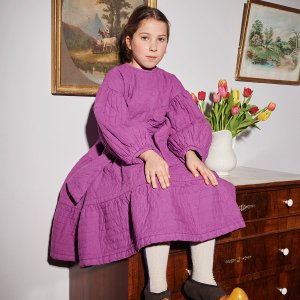 【yellowpelota】Tarasp dress / Purple