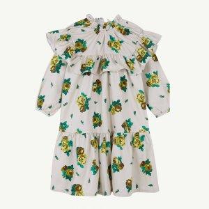【yellowpelota】Folklore dress / Natural