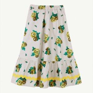 【yellowpelota】 Folklore skirt / Natural