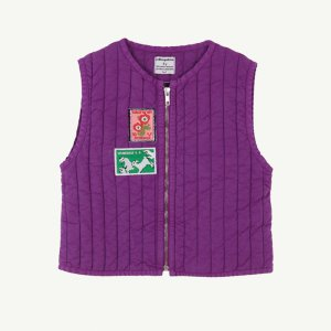 【yellowpelota】Tarasp waistcoat / Purple