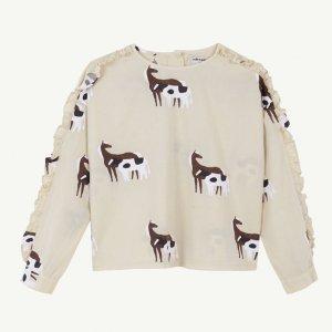 【yellowpelota】Valley blouse / Natural