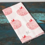 [MAISON BOBO CHOSES]Tenugui Hand Towel Apple
