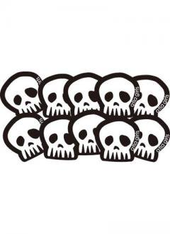 ・atla girls White SKULL 10枚セット
