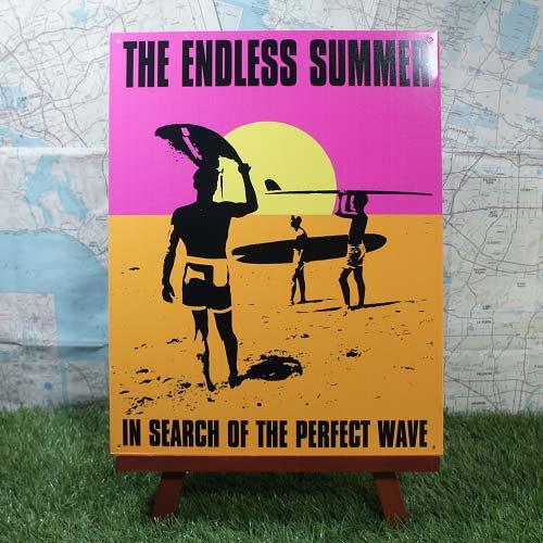 【ブリキ看板】The Endless Summer/エンドレス・サマー 映画 -2-