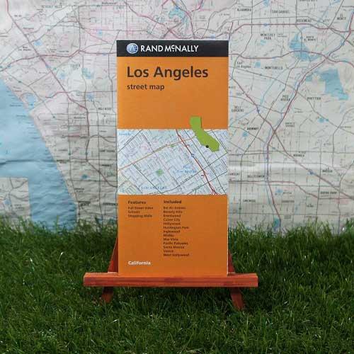 【輸入地図】Los Angeles/ロサンゼルス Street Map -Rand McNally-