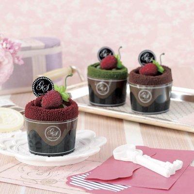 ラフレーズ カップケーキタオル 1個