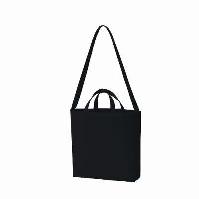 キャンバスWスタイルバッグ/ナイトブラック