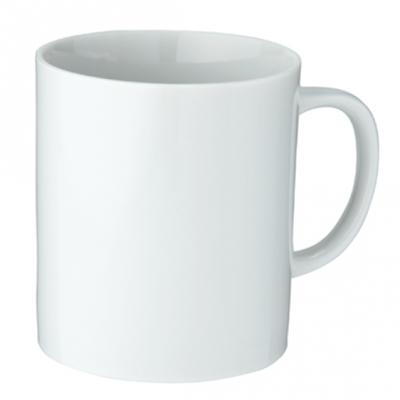 陶器マグ ストレート(M) ホワイト