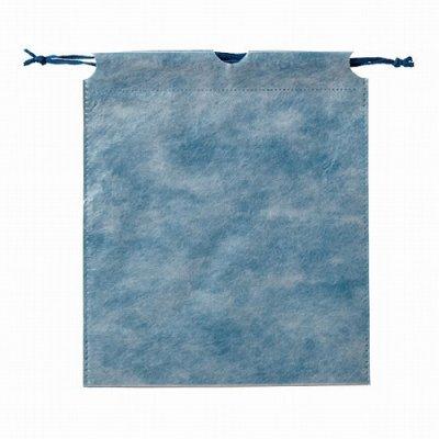 和風巾着袋(青色)