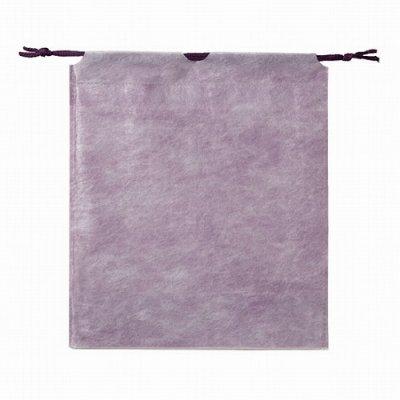 和風巾着袋(紫色)