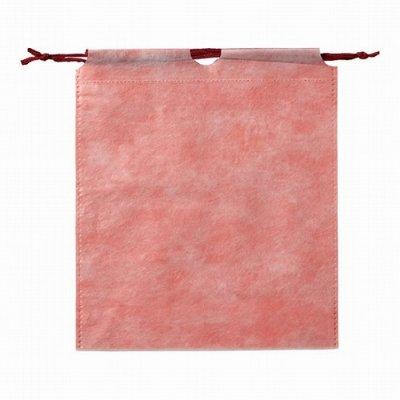 和風巾着袋(薄紅色)