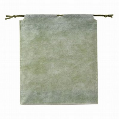 和風巾着袋(抹茶色)