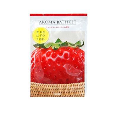 【国産】アロマバスケット フレッシュストロベリーの香り
