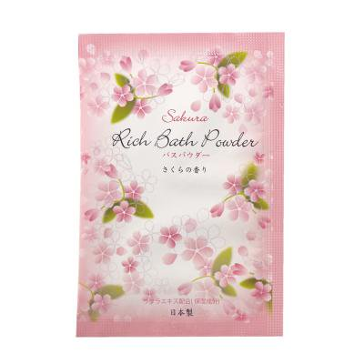粉体入浴料リッチバスパウダー20g(桜の香り)