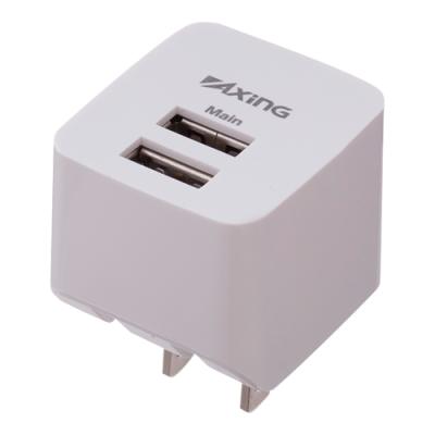 USBコンセントチャージャー2.1A 2ポート/ホワイト