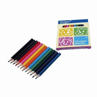 パステル12色カラーペンシル 1個